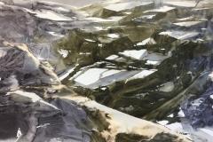 akvarell 70x100cm