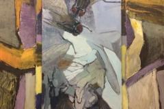 Flugor, akryl. 110x140cm