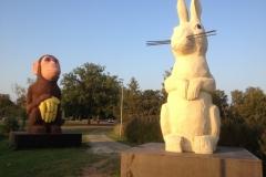 Apan och kaninen, Osby