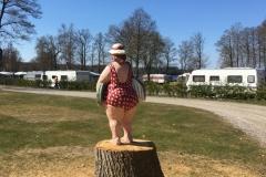 Badande, Tygelsjöns camping