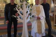 Dopträd, Göteryds kyrka