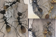 Myror, blandteknik